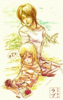 Shingeki no Kyojin: Ymir and Christa by scottwuming