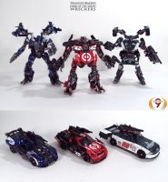 Transformers DOTM Wreckers by Unicron9