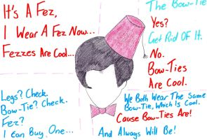 Fezzes And Bowties Are Cool... Deal With It by 0-SomethingBlue-0