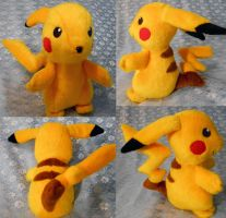 Pikachu (large size) by Rens-twin