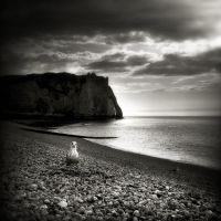 walking around Etretat VII... by Kaarmen