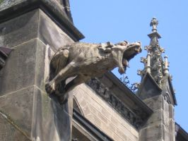 Gargoyle 2 by Meltys-stock