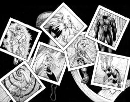 The Seven Sins as Rabbits by JoeEngland