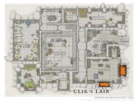 Wizards Academy - Clik's Lair by SirInkman