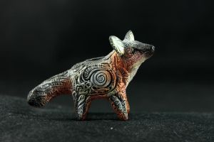 Grey Fox Totem by hontor