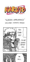 Naruto Doujinshi - Sudden Appearance by SmartChocoBear