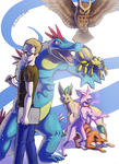 Pokemon team - ID by SebasVishno
