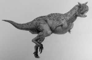 Carnotaurus. by Frank-Lode