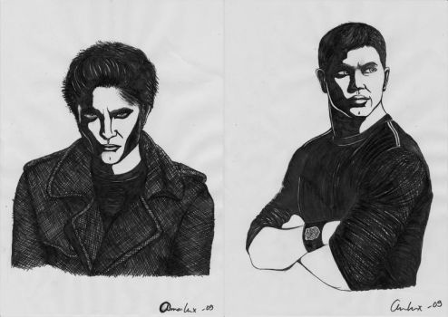 The Cullen boys by annaGOESpanasonic