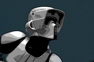 Scout Trooper by 1DVSMOFO