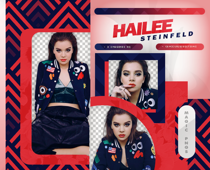 PACK PNG 864  HAILEE STEINFELD by MAGIC-PNGS