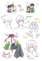 Sketch Dump ::Free!:: by Cerithe