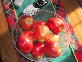 Red Apples in a Bowl by BigMac1212