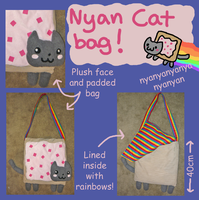 NYAN CAT Shoulder Bag! XD by SilkenCat