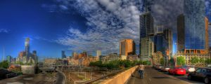 Pathway to Melbourne by dzign-art