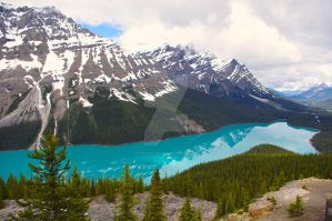 Peyto Lake by aharddaysnight