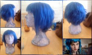 Ramona Flowers Wig Commission by TemaTime