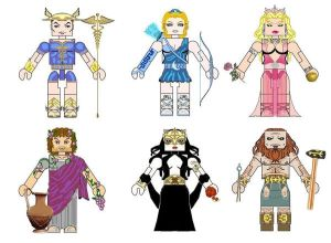 Greek Mythology Minimates2