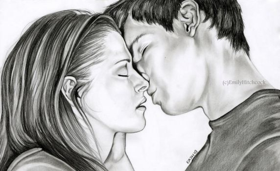 Jacob and Bella by EmilyHitchcock