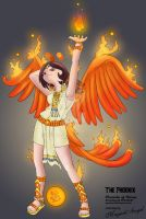 Phoenix Girl by MagnaAngel
