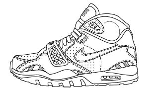 Nike Air Trainer SC II Template by atraain