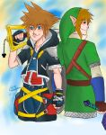 The Keyblade's Chosen One and the Hero of Light by createandshow0407