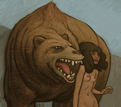 Cave Bear by atomicman