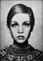 Twiggy Lawson by ylxiaa
