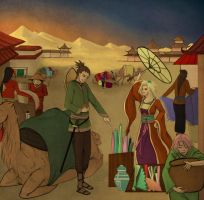 ShikaTema The Silkroad  *Historical Contest* by XOX-OXO