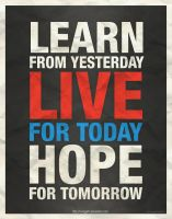 Learn - Live - Hope by IrvingGFM