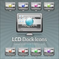 LCD Dock Icons by basstar