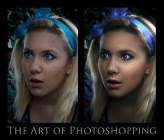 Art of Photoshopping - Alice by Hikero