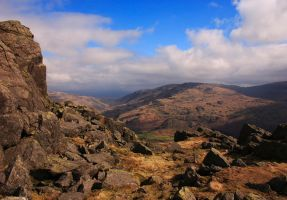 Harter Fell and Hardknott by scotto