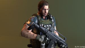 Chris Redfield RE6 by mr-juanky
