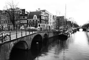 amsterdam canals by pesna