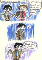 The Sweetness that is Destiel - Part Due by Strabius