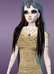 Padme Amidala (My IMVU avatar) 1. by HumanIntheMirror