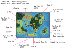 Region Map Explained by Rossay
