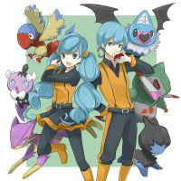 Pokemon Ace Trainers by CactusCheese