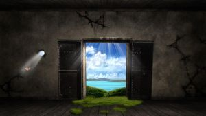 fantasy door by Paullus23