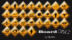 Board Icon Vol 2 by Mickka