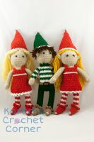 Christmas Elves are here! by karenscrochetcorner