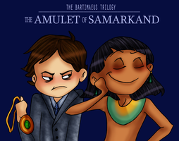 The Amulet of Samarkand by sunni-sideup