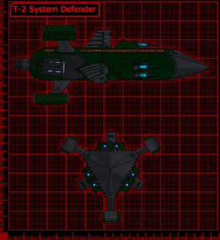 T-2 System Defender by 0verlordofyou