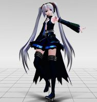 Tda Hagane Miku MMD download by Reon046