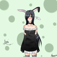bunny girl by Autumn-ClockW0rk