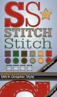 Stitching Illustrator Style by gruberdesigns