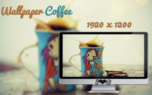 Wallpaper Coffee by oOILOVESONGOo