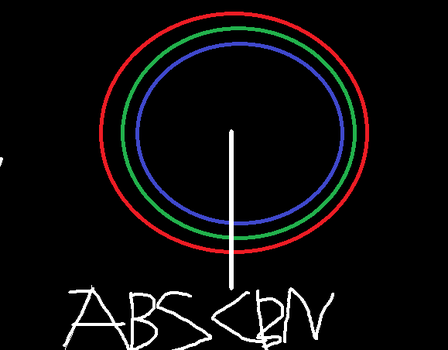 ABS CBN (On a black background) by CD20Scratch