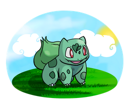 Bulbasaur by Bubble-the-Wartortle